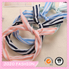 Wholesale new style fabric covered headband rabbit ear hair accessories/ metal headband/