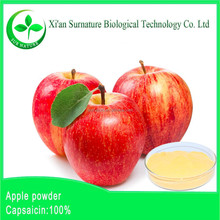 GMP manufacturer supply apple stem cell powder, apple extract powder