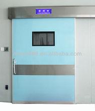 Hospital air tight automatic sliding door