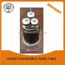 0.6/1KV Quadruplex core cable abc overhead 3*2/0AWG+155.4kcmil Walking ASTM standard with bare AAAC neutral conductor cable