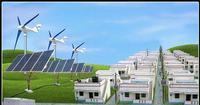 ac invertor plug and play wind power wind solar hybrid street light