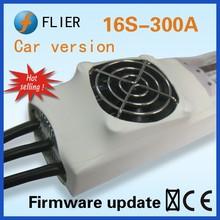 Flier Car version fan cooling regulator 16S 300A ESC for RC car