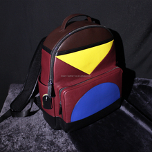 genuine leather backpack,girl use, fashion and cool