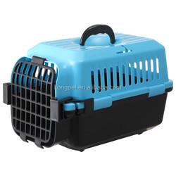 Hot sale big American style plastic flight pet carrier /dog crate CA001