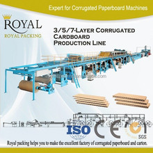 High quality corrugator , Corrugation Plant Line, carton box making machine