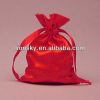 Exquisite Satin pouch/drawstring jewelry bag