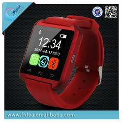 Bluetooth Smart Watch MTK U8 smart watch sport watch for iPhone 4/4S/5/5S Samsung S4/Note 2/Note 3 Android Phone smartwatch