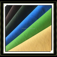 yuhua wear-resistence 0.4mm -5.0mm thick nonwoven back micro pu leather