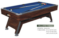 Fashion and good looking MDF foostable/pool table,7ft /8ft/9ft pool table for sale