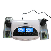 Ionic Detox Foot Spa Machine WTH-205 with Two Bamboo Waist Belts And Two Arrays