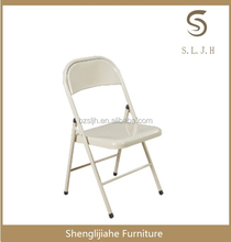 cheap leather metal folding dining chair z-09 for sale