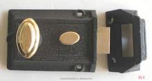 Best products security brass rim lock set