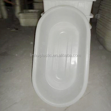 Rotomolding plastic long basin strong oval tanks