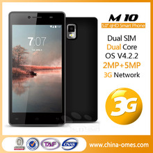 5.0'' QHD big screen long standby 5MP camera Dual Sim 3G Celulares