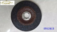 "5 "" depressed centre grinding wheel for stone metal"