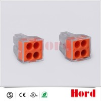 The most popular quick connect electrical push wire wago Connector 773-104