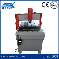 3D small wood carving 6090 cnc wood router/engraving machine for advertising work