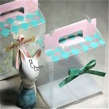 china supplier New design Clear plastic birthday cake box for packaging with free samples