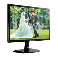28'' 3840*2160 4K industrial split screen tft cctv lcd led monitor with dvi, DP*2, av port/ input CE certified