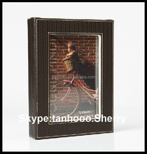 """leather photo frame with holder/red hot sexy video photo frame/8"""" picture photo frame"""