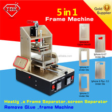 LCD Touch Screen Polarizer LOCA/OCA UV Glue Remove /vacuum lcd separator machine for iPhone4/4s/5/6