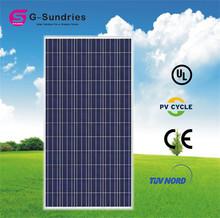 Latest technology 25years high efficient sun power solar panels