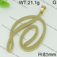 High quality gold color car hanging pendant