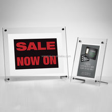 Hot sale clear acrylic photo frame, picture frame 4 x 6