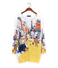 El último diseño moda para mujer hip hop suéter del suéter de algodón