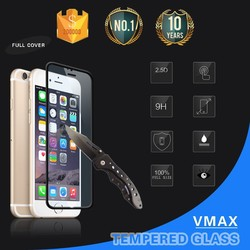 Full Screen Cover !! Super Thin 0.2mm 9H Premium Anti-Fingerprint Tempered glass screen protector for iPhone 6 (OEM/ODM)