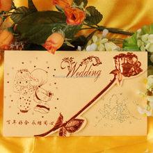Best quality stylish good supply for wedding card