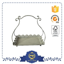 Beautiful High Quality Antique Wedding Metal Tray