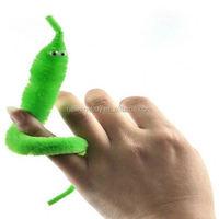 2015 Magicians Toy Baralho Mr.fuzzy Magica Worm Magic Trick Twisty Plush Wiggle Stuffed Animals Street Toy For kids gift 21cm