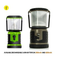 Factory OEM outdoor rechargeable led camping light, waterproof led camping lantern with charger