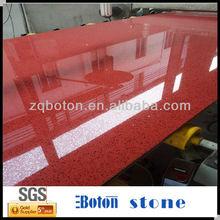Red Starlight Polishing Artificial Quartz Stone