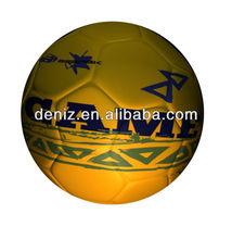 popular in brazil market deniz cheap promotional pvc soccer ball footballs for train and entertainment