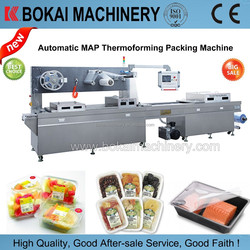 Meat Modified Atmosphere Thermoforming Vacuum Packing Machine