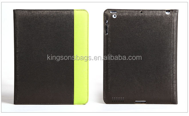 "2014 Kingsons New Arrival For IPAD Case 9.7"", For IPAD Leather Case For IPAD 2/3//4 Cover"