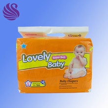 disposable economic good quality baby diaper factory in China
