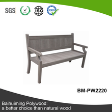 More Color and Anti-UV Artificial Wood Bench