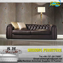 Sofa Furniture Italian Living Room Chesterfield Antique Sofa XY-C03