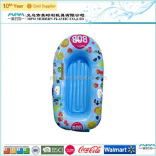 plastic inflatable boat with electric motor