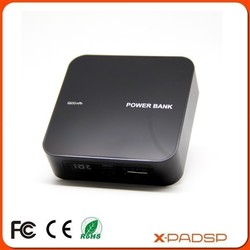 High Capacity Portable Power Bank with LED Display (X-6600)