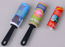Buy Direct from China Manual Style Two Lint Roller with One refill