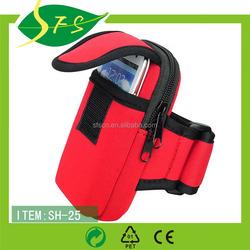 Mobile phone neoprene arm bag
