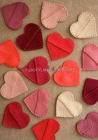 DIY handicraft felt with many colors nonwoven handicraft making