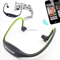 New Arrival 2015 Wireless Sports S9 stereo Headphone Bluetooth 3.0 Neckband Earphone sport Headset