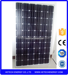 china factory direct price per watt monocrystalline silicon solar panel 250watt