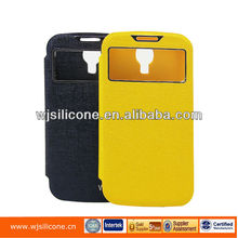 NEW Smart Luxury Flip Leather cover case For samsung s4