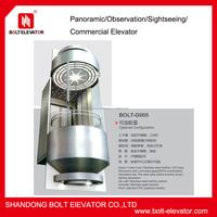 circular glass elevator lift sightseeing elvator price